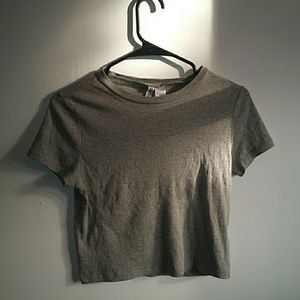 Gray shirt from h&m